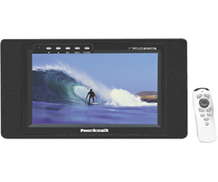 "POWER ACOUSTIK PT-729MSV 7"" Wide-Screen Sun Visor LCD Monitor"